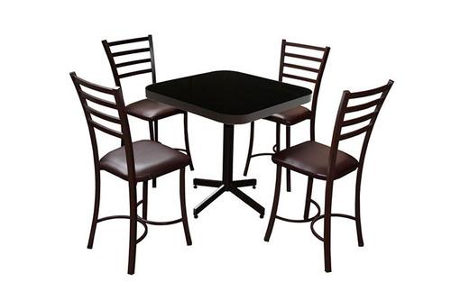 mesa juego con 4 sillas para restaurante comedor barato ve75