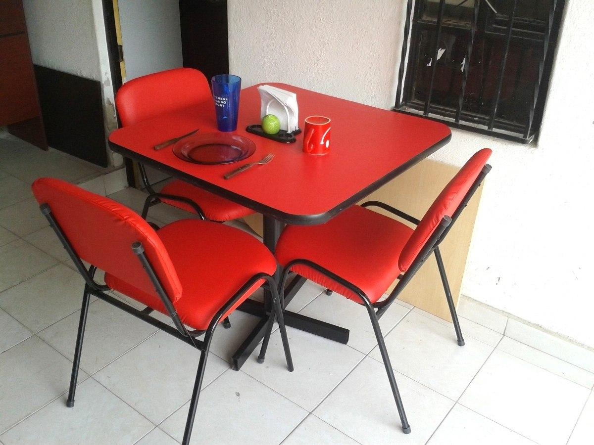 Mesa juego con 6 sillas restaurante comedor hogar bar for Precio juego de comedor con 6 sillas