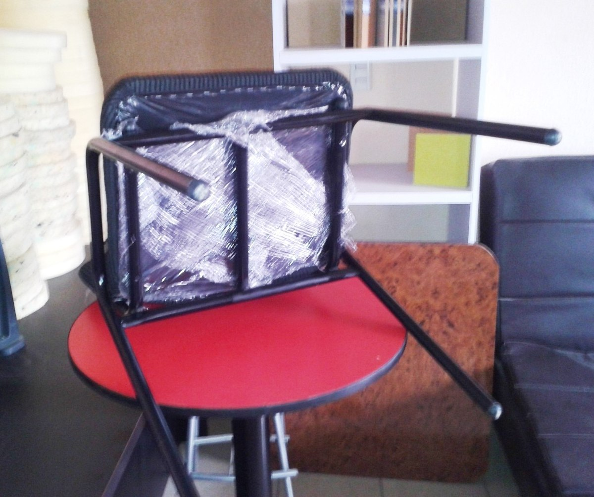Mesa juego con 6 sillas restaurante comedor hogar bar for Comedor 6 sillas precio