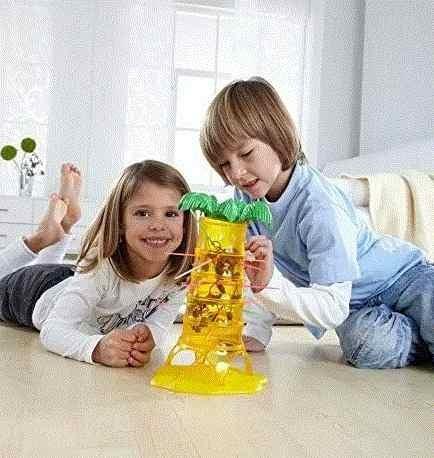 Monos Locos Mattel Juego De Mesa 52563 Ninos Juguete 84 900 En