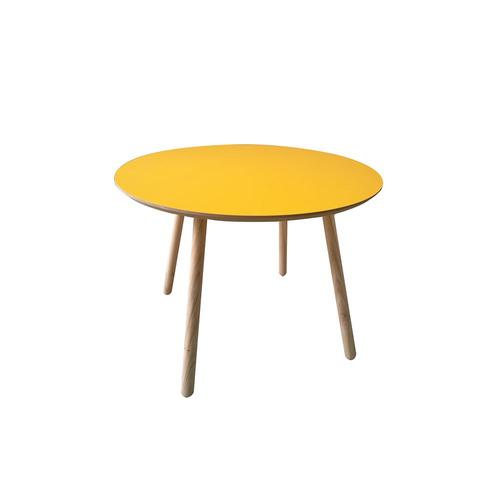mesa kids 70 cm soluciones madera color mango