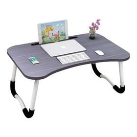 Mesa Laptop Portatil Computador Tablet Cama Mesita Negra
