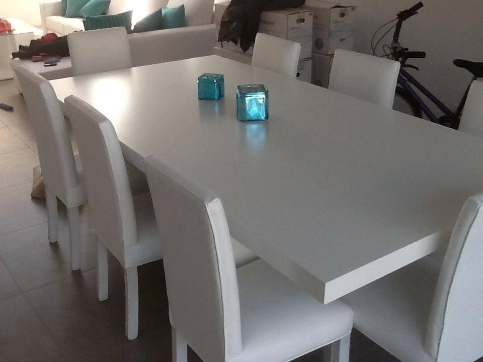 Mesas de comedor cuadradas para 8 personas for Comedor 8 personas cuadrado