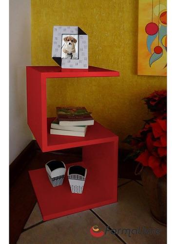 mesa lateral de apoio s ou mesa de cabeceira vermelho laca