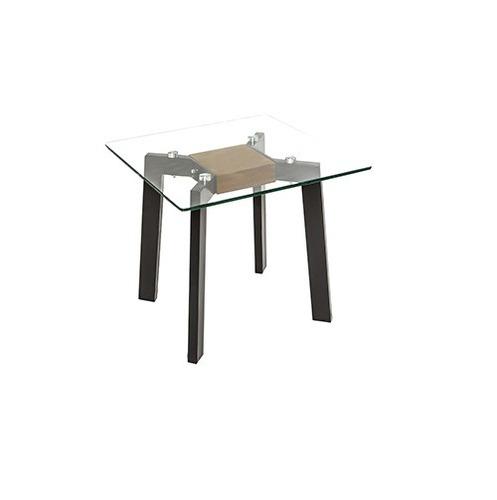 mesa lateral elda - nogal americano këssa muebles.