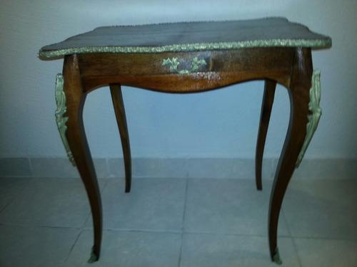 mesa lateral estilo luis xv