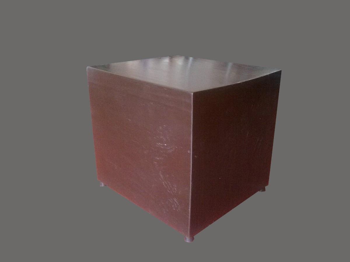 Mesa lateral mesa esquinera taburete 100 madera de for Mesa esquinera redonda