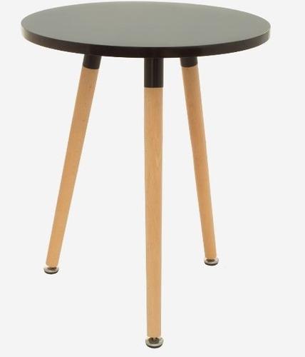 mesa lateral milán (negra) diseñador
