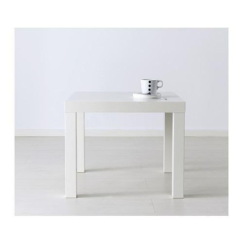Mesa lateral minimalista ikea modelo lack blanca 549 - Ikea mesa lack blanca ...