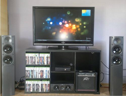mesa lcd led dvd audio.