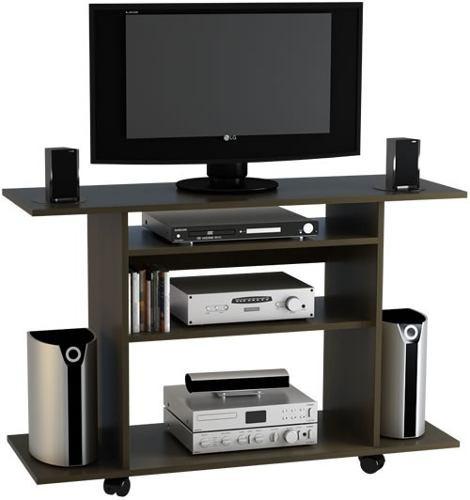 mesa lcd led dvd audio con ruedas.