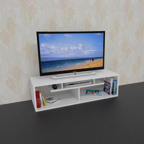 mesa lcd led mueble moderno living rack linea moderna