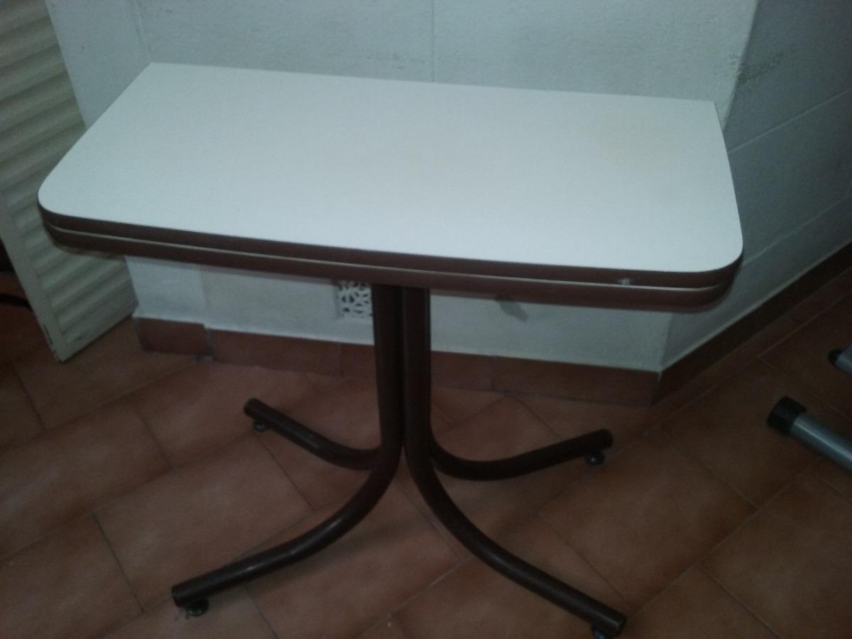 Mesa Plegable Tipo Libro De Formica En Mercado Libre Argentina ~ Mesa De Cocina Plegable Tipo Libro