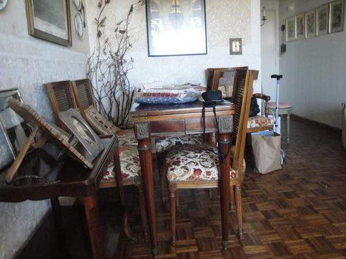 mesa libro luis xvi  francesa (cuero y bronce)