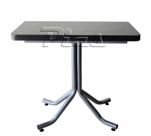 mesa libro plegable melamina 18 mm - 80 x 40 a 80 x 80 cm!