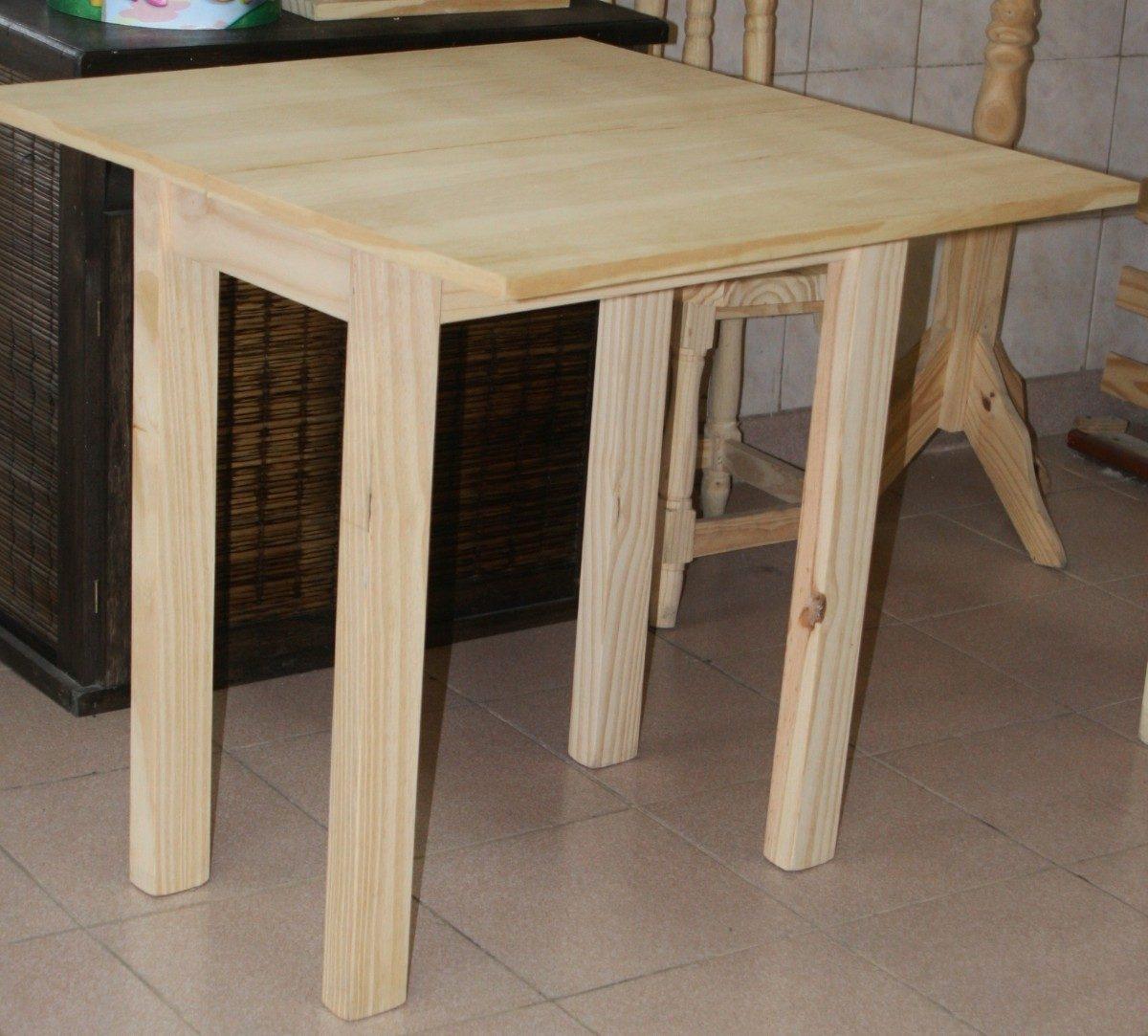 Mesas de comedor plegables tipo libro finest mesa libro - Mesa cocina plegable tipo libro ...