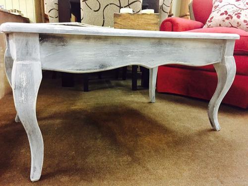 mesa living madera