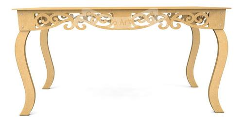 mesa luis xv prince 1.50 mdf casamento aniversário provençal