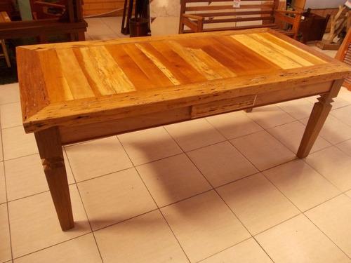 mesa madeira demolição - 1,40 x 0,60 - preço inacreditável