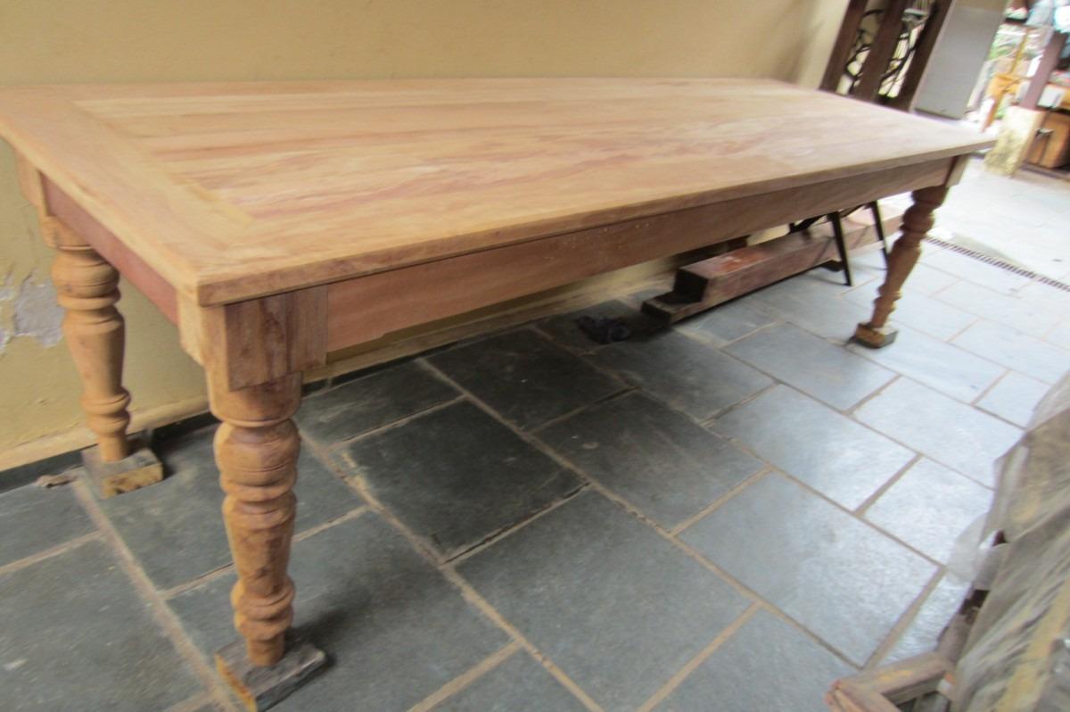 mesa madeira peroba rosa demoli o r em
