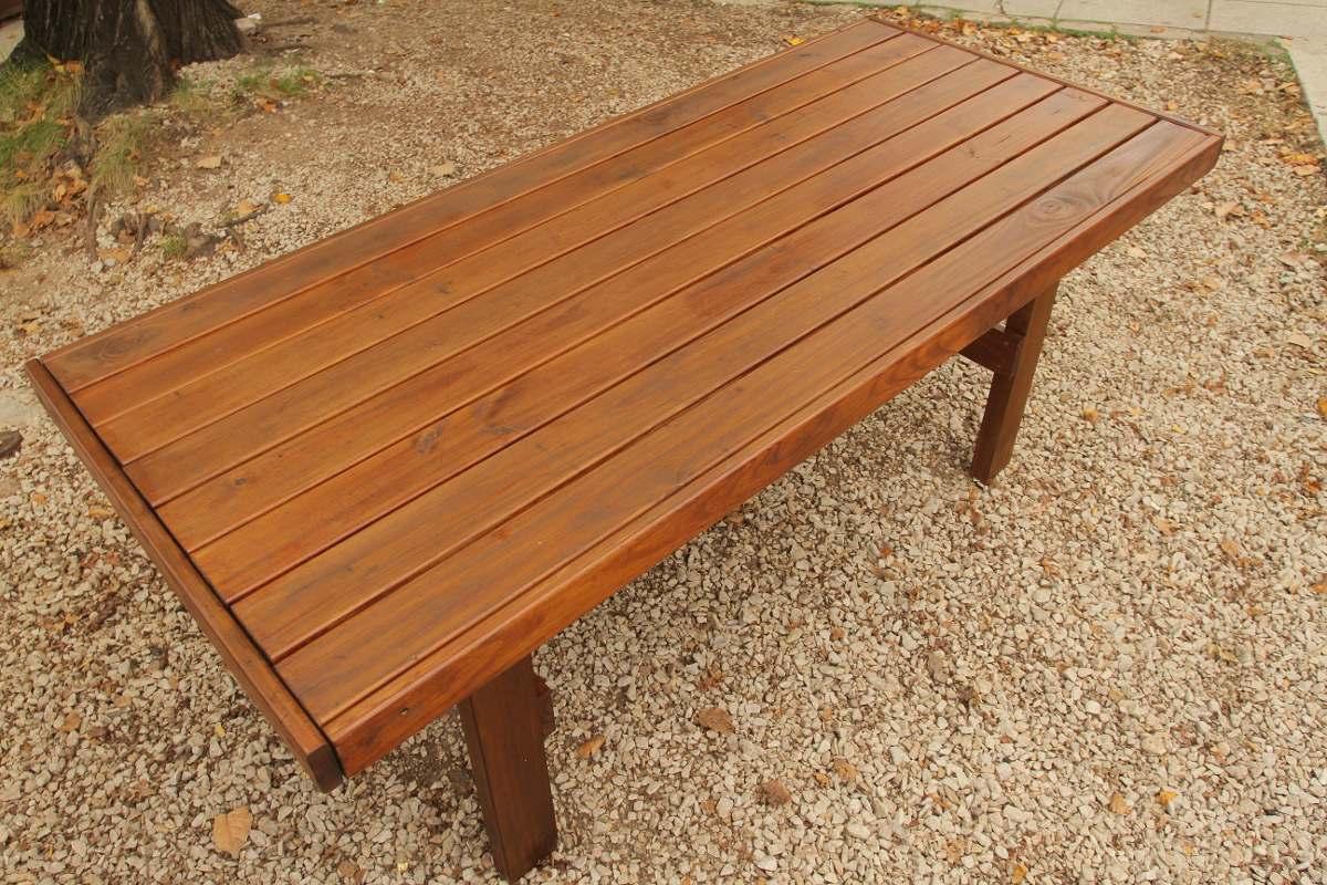 Mesas de comedor rusticas de madera haga click para for Mesas de madera