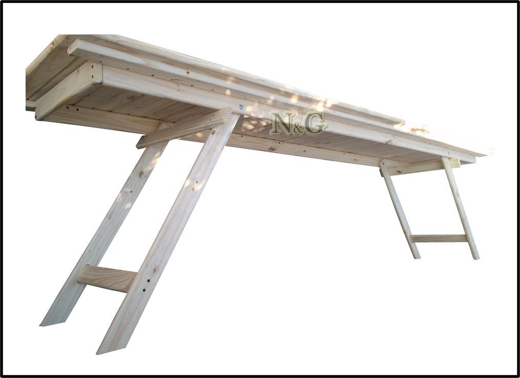 Patas de mesa de madera mesa de centro opium cuadrada for Patas de mesa plegables
