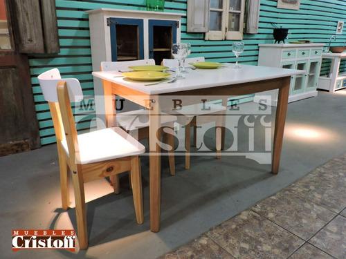 mesa madera. muebles