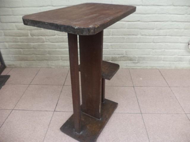 Mesa madera rustica antigua 850 00 en mercado libre for Mesa madera antigua