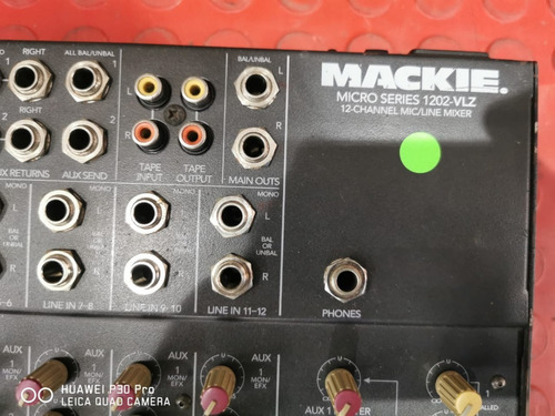 mesa makie vlz-1202 12 canais perfeita e balanceada!!!
