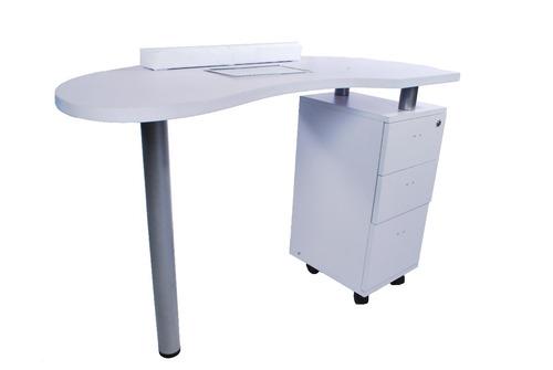 mesa manicure portátil ventilador blanca 8400/ venta ofertas
