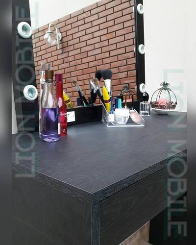 mesa maquillaje eco color 1mt+espejo