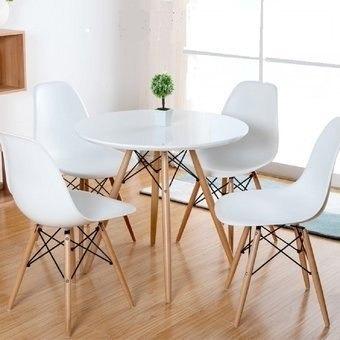 Mesa Más 4 Sillas Juego Comedor Cocina Nuevo Diseño Moderno ...