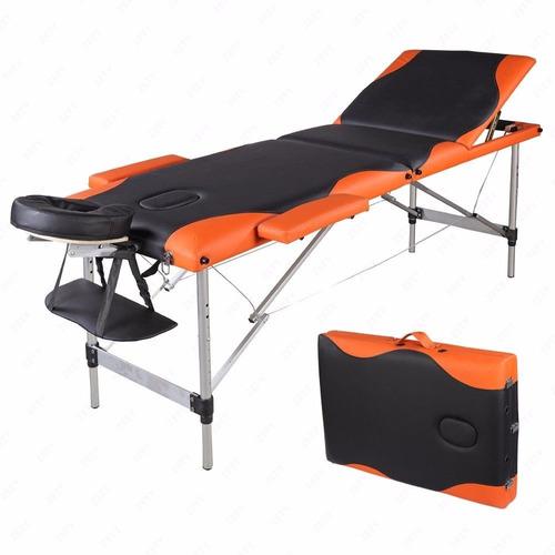 Mesa camilla de masaje port til aluminio cama tabla - Mesa portatil cama carrefour ...
