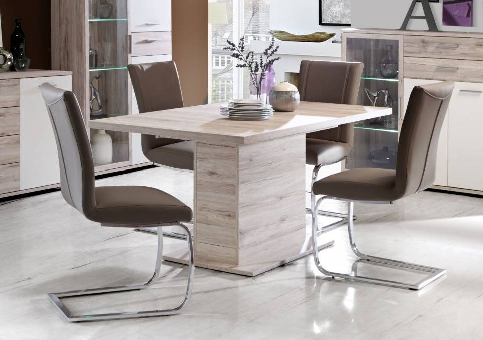 mesa melamina rectangular comedor vajillero cocina moderna cargando zoom - Mesas De Cocina Modernas