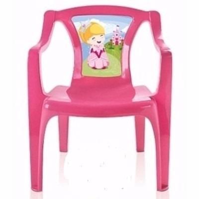 mesa (mesinha) infantil + 2 cadeiras princesas - imperdível!