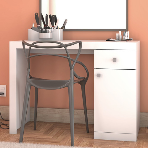 mesa mesinha manicure escrivaninha penteadeira porta gaveta