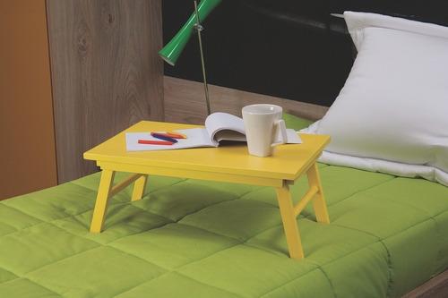 mesa mesinha notebook café cama vermelha tramontina 91390136