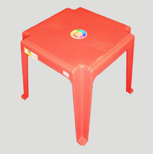 mesa mesinha plástica infantil criança 45 x 45,5 cm - pç