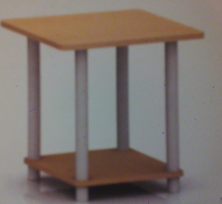 Mesa Mesita Auxiliar Cocina Diseño Importada Madera - $ 839,00 en ...