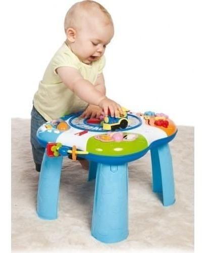 mesa mesita de actividades bebe con trencito musical nuevo