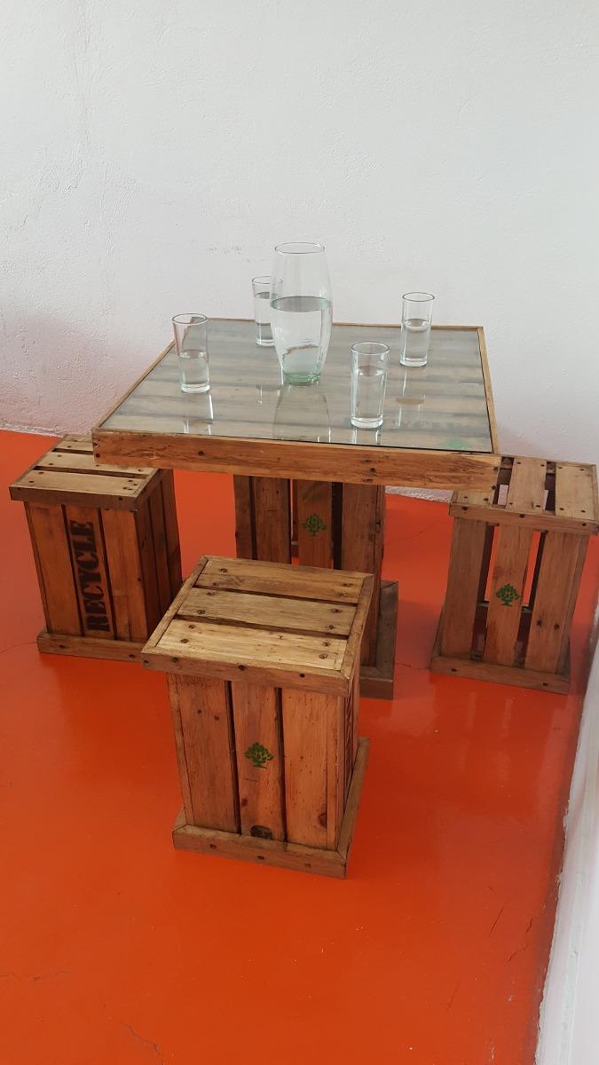 Mesas De 4 Sillas Vintage en Mercado Libre México