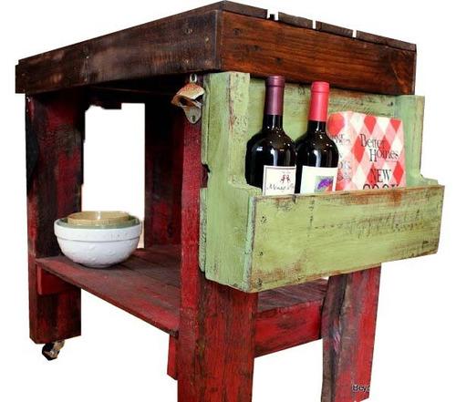 mesa mirta 45x80x100 madera reciclada pantano pallet mesas
