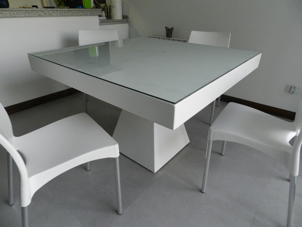 mesa de la cocina de vidrio free image