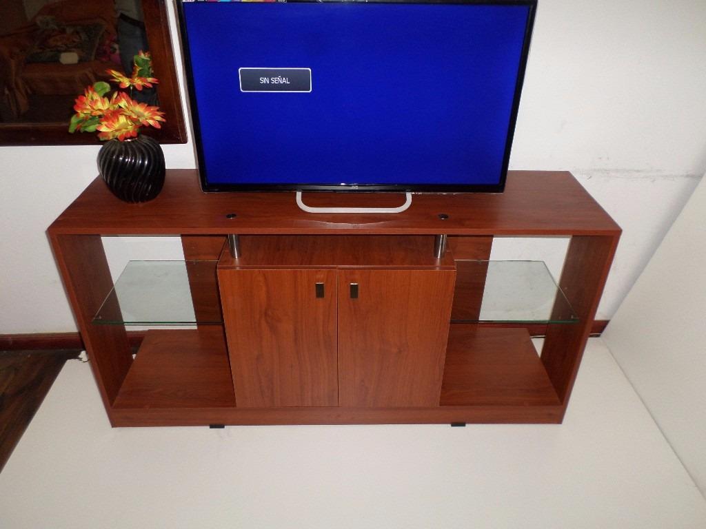 Mesa modular lineal tv 32 40 42 50 55 pulgadas for Mesa tv 49 pulgadas