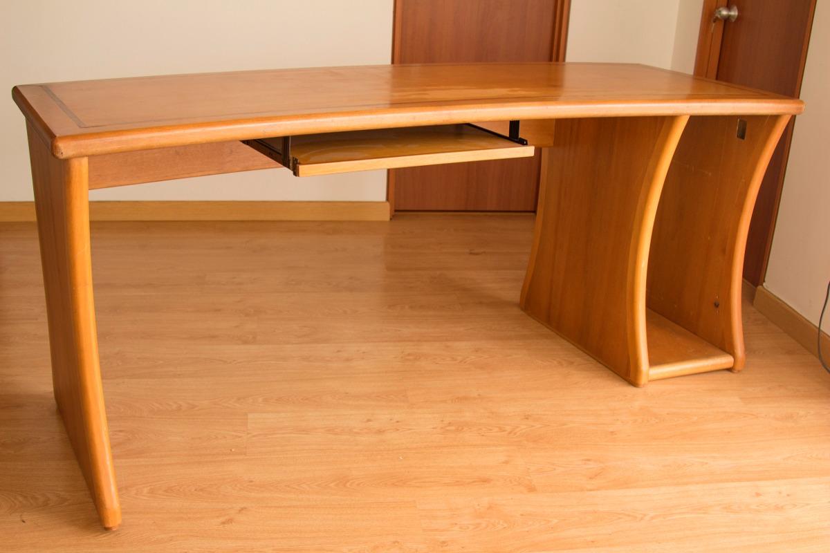 Mesa mueble escritorio y o estudio en madera de alta for Muebles para estudio