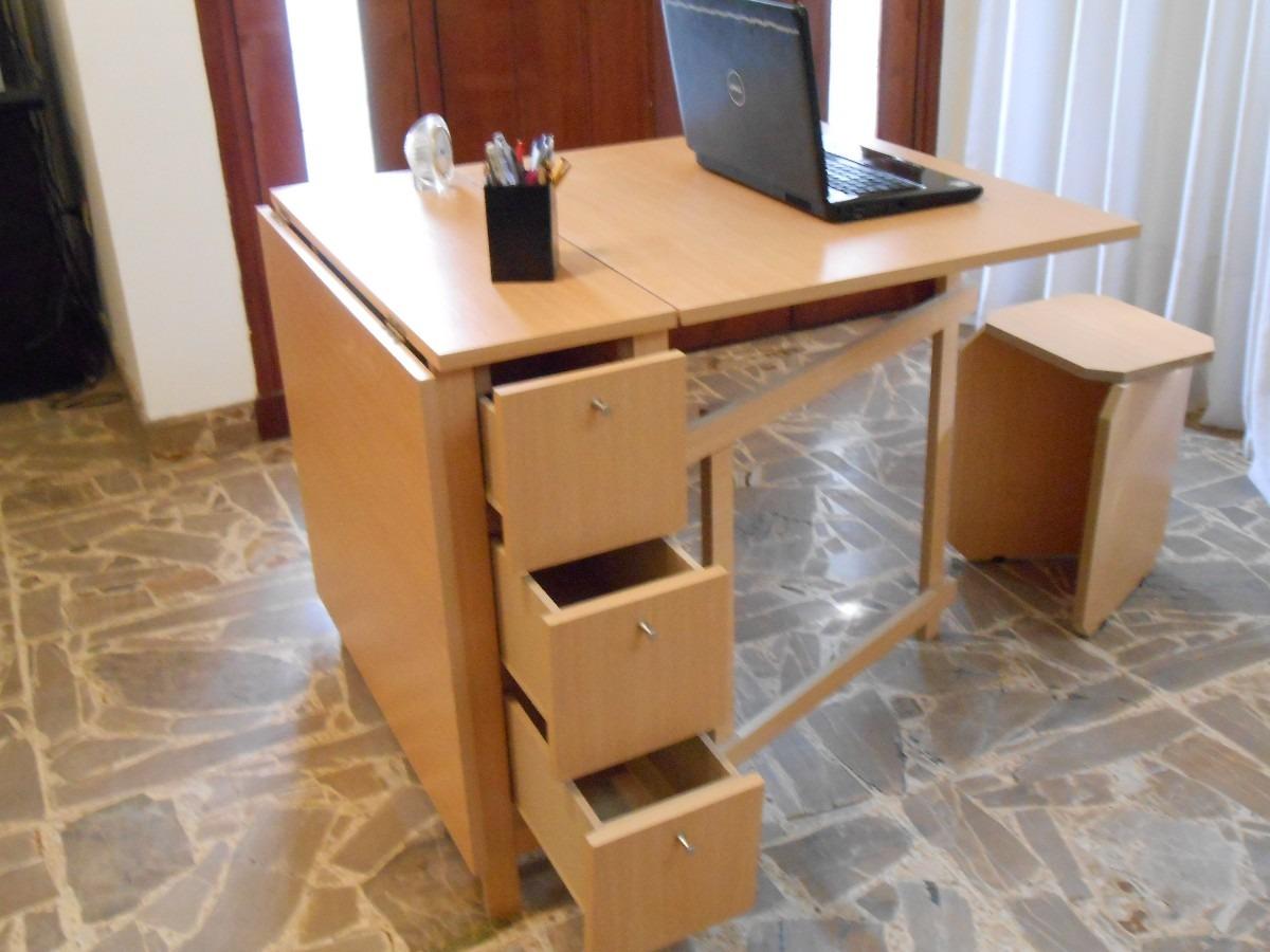 Mesas plegables de estudio interesting cama abatible - Mesas cocina plegables ...