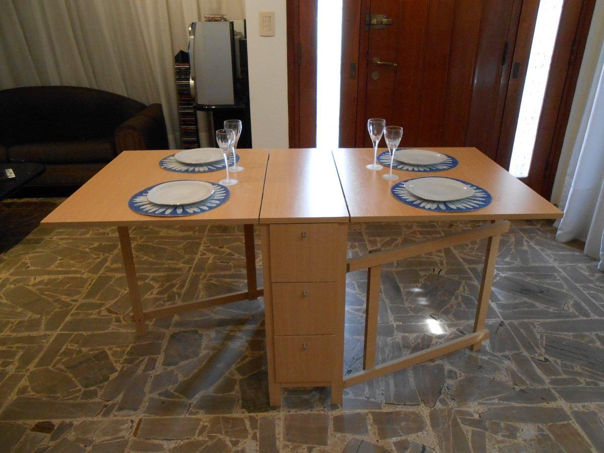 Mesa Multifunción Plegable Ideal Para Cocina Comedor - $ 3.780,00 en ...