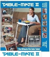 mesa multiusos plegable table mate ii