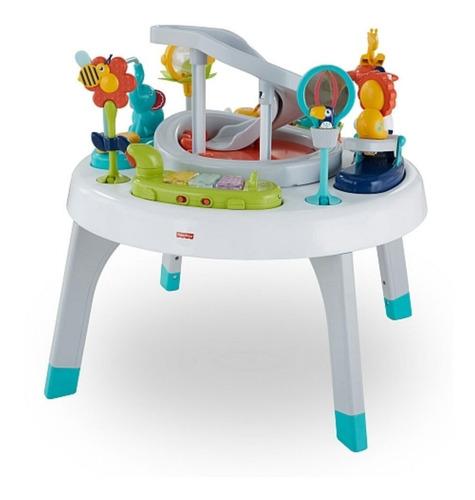 mesa musical de actividades giratoria 2 en 1 de fisher price