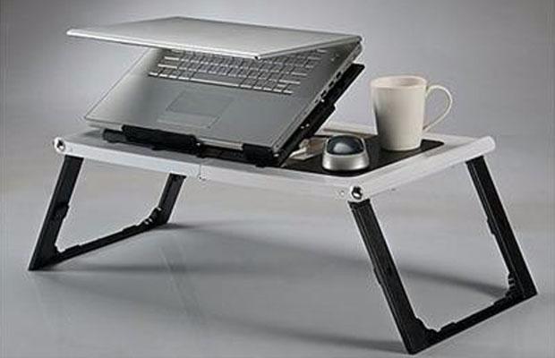 Mesa notebook cooler dobr vel suporte base mouse copo cama - Mesa portatil cama carrefour ...